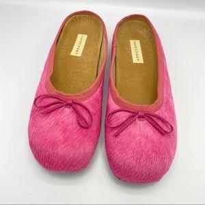 Naked Feet Cowhide Flats